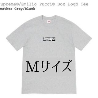 Supreme - 2021SS Supreme Emilio Pucci Box Logo Tee