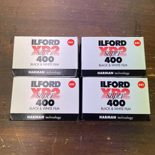 イルフォード XP2 super400 24枚撮り 4本セット(フィルムカメラ)