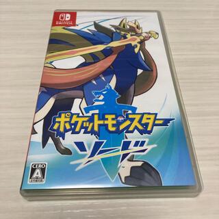 Nintendo Switch - スイッチソフト ポケットモンスター ソード ポケモン