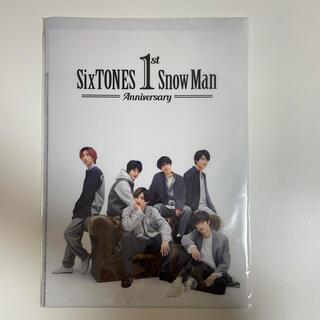 SixTONES SnowMan 1st Anniversary クリアファイル