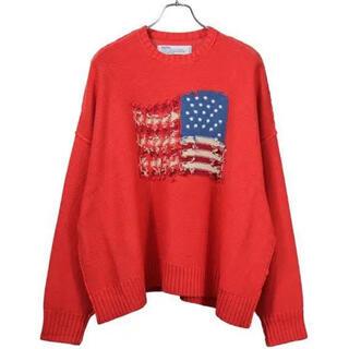 UNUSED - DAIRIKU 19aw Inside Out America Knit