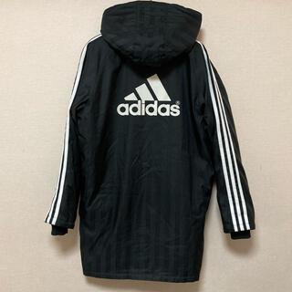 adidas - アディダス ベンチコート 150 黒 ブラック