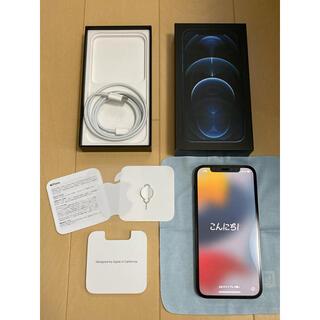 iPhone - 美品 Apple iPhone12 Pro パシフィックブルー 256GB