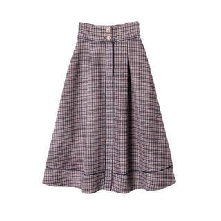 eimy istoire - レア 新品タグ付き ツイードスカート ロング スカート きれいめ