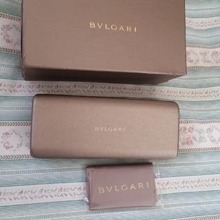 BVLGARI - BVLGARI メガネケース メガネ拭き 未使用