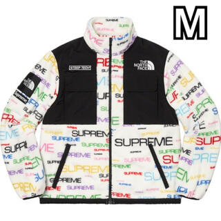 Supreme - M Supreme TheNorthFace Fleece Jkt White
