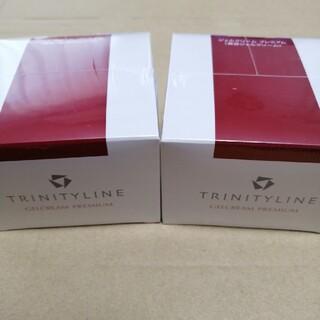 タイショウセイヤク(大正製薬)のトリニティーライン ジェルクリームプレミアム     80g  × 2個(オールインワン化粧品)