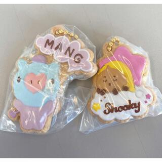 バンダイ(BANDAI)のBTS BT21 クッキーチャームコット MANG SHOOKY 2個セット(アイドルグッズ)