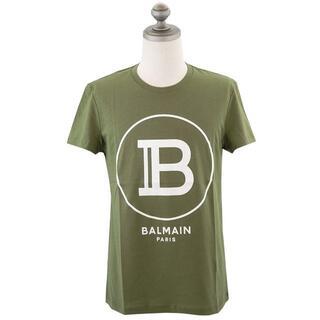 バルマン(BALMAIN)のバルマン 半袖Tシャツ TH11601I201 KAKI size S(Tシャツ/カットソー(半袖/袖なし))