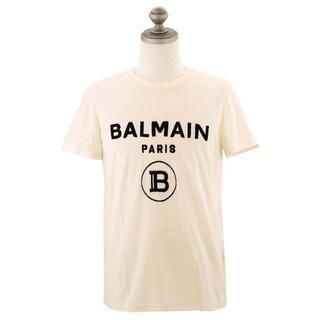 バルマン(BALMAIN)のバルマン 半袖Tシャツ TH11601I203 WHI/BLK size S(Tシャツ/カットソー(半袖/袖なし))