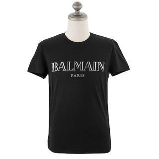 バルマン(BALMAIN)のバルマン 半袖Tシャツ TH11601I312 BLK SIL size S(Tシャツ/カットソー(半袖/袖なし))