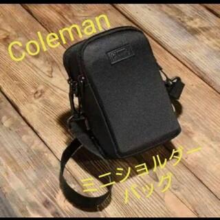 Coleman - ゲットナビ 付録 Coleman(コールマン) ミニ ショルダーバッグ
