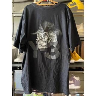 Y-3 - Y-3 スカルグラフィックプリントTシャツ