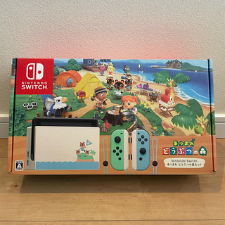 Nintendo Switch - 3年保証 Nintendo Switch あつまれどうぶつの森セット
