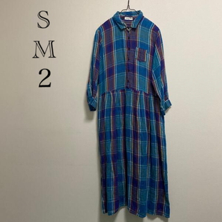 SM2 - サマンサモスモス 七部袖ロングワンピース