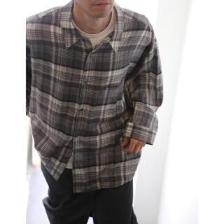 1LDK SELECT - グラフペーパー20AWチェックシャツ
