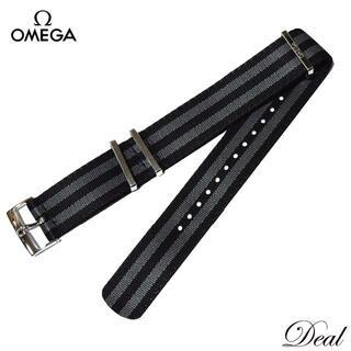 OMEGA - 美品 OMEGA オメガ 純正 NATOベルト 21mm メンズ 腕時計