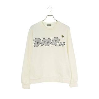 ディオール(Dior)のディオール ×カウズ/KAWS  ×KAWS BEEロゴ刺繍クルーネックスウェッ(スウェット)
