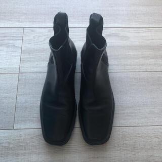ミュウミュウ(miumiu)のmiumiu ミュウミュウ サイドゴアブーツ 美品(ブーツ)