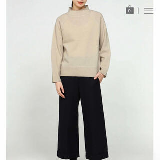 MARGARET HOWELL - MHL. FELTED ROUGH WOOL モックネックセーター