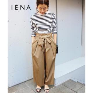 イエナ(IENA)の【IENA】ライトサテン リボンパンツ(カジュアルパンツ)