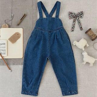 Caramel baby&child  - soor ploom Imogen Overall, Medium Denim