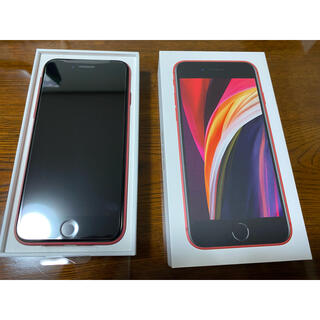 iPhone - iPhone SE 第2世代 (SE2) レッド 64GB docomo ドコモ