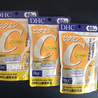 ディーエイチシー(DHC)のDHC ビタミンC 60日分×4袋(ビタミン)