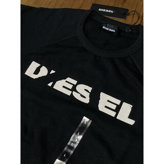 DIESEL - DIESEL  新品未使用 Lサイズ スウェット 長袖 裏起毛 ディーゼル