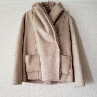 ルカ(LUCA)のLUCA/LUCA LADY LACK フード付きフェイクファーコート(毛皮/ファーコート)