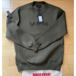 BRIEFING - BRIEFING クルーネックセーター