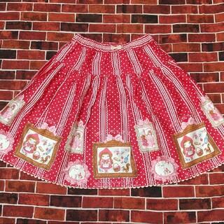 Shirley Temple - 新品未使用!160cm シャーリーテンプル 赤ずきん スカート