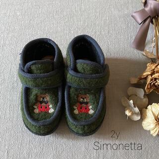 Simonetta - イタリア子供靴⿻ Simonetta(シモネッタ)⿻ウールブーツ2y