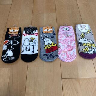 スヌーピー(SNOOPY)のSNOOPY 靴下 23〜25cm(靴下/タイツ)