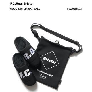 エフシーアールビー(F.C.R.B.)のF.C.Real Bristol  x SUBU SANDAL L BLACK(サンダル)