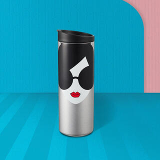 Starbucks Coffee - 【新品】香港スタバ ステイシーフェイス アリス&オリビア ステンレスタンブラー