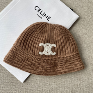 celine - 【CELINE】21FW クロシェハット / シームレスカシミア