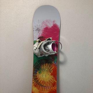 エラン(Elan)の【訳あり特価】ELANスノーボード&ビンディングセット 142cm(ボード)