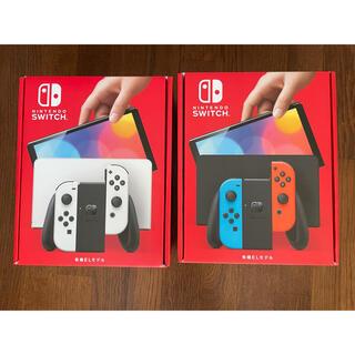 Nintendo Switch - Nintendo Switch 有機EL ネオン ホワイト