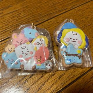 防弾少年団(BTS) - BT21 クッキーチャームコット 集合 チミー ジミン