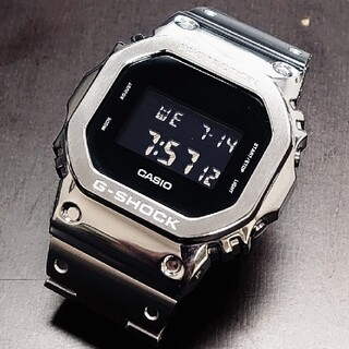 G-SHOCK - カシオジーショック CACIO G-SHOCK DW-5600BBフルメタル