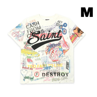 新品 【M】セントマイケル 村上隆 GRAFF Tシャツ