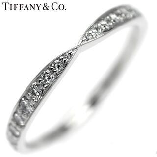 Tiffany & Co. - 【追加出品】ティファニー Pt950 ダイヤモンド リング ハーモニー