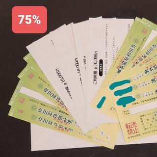 洲本温泉利用券 5万円分 額面の75% 期限:令和5年9月末(その他)
