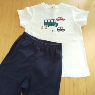 familiar - ファミリア 半袖 パジャマ 男の子 110 車