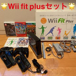 ウィー(Wii)の任天堂 Wii fit plus ウィー フィット プラス ソフト セット(家庭用ゲーム機本体)