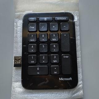 マイクロソフト(Microsoft)の未使用 Microsoft 純正 テンキーのみ ワイヤレス(PC周辺機器)
