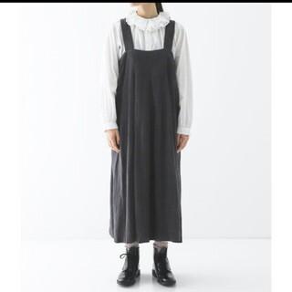 nest Robe - ネストローブ♡起毛リネンフレアジャンパースカート