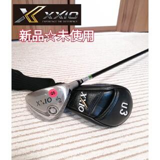 DUNLOP - 新品 XXIOユーティリティ ゼクシオ  U3+ 右利き用 メンズ シャフトS