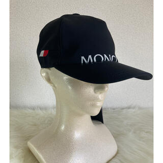 MONCLER - MONCLER モンクレール ベースキャップ 帽子 ユニセックス フリーサイズ